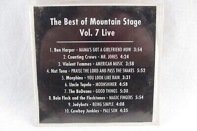 CD comp BEST OF MOUNTAIN STAGE Vol 7 Live Violent Femmes Morphine Cowboy
