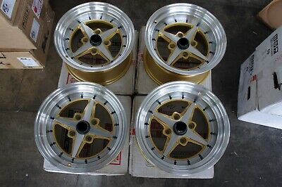 "For ae86 ta22 s30 z31 ke70 kp60 dr30 JDM Retro 4spoke Style 15"" staggered wheels for sale  Shipping to United States"