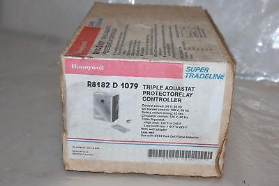 Honeywell R8182 D 1079 Triple Aquastat Protectorelay Controller