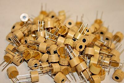 100 Pack Spectrol 6231 Miniature Potentiometer - 10 Ohm Single Turn 100-213