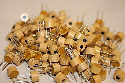 100 Pack Spectrol 6231 Miniature Potentiometer - 10 Ohm Single Turn 100-213