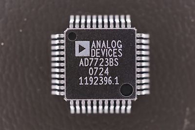 Ad7723bs Analog Devices 16 Bit Adc Analog To Digital Converter 5v 44 Pin Mqfp