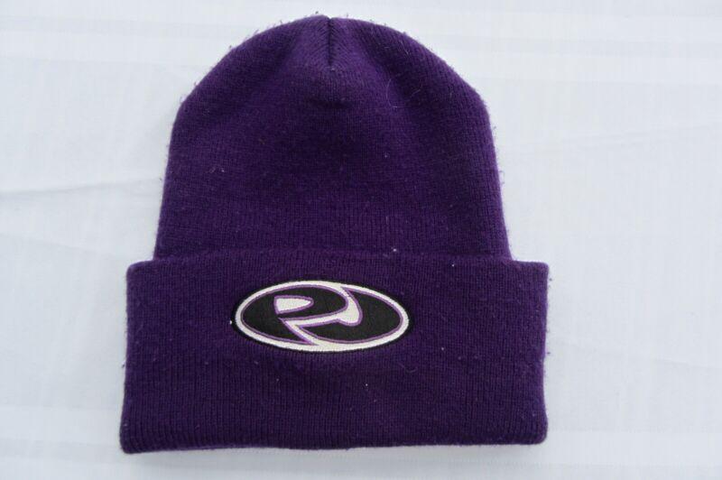 PJ PEARL JAM logo Beanie Hat, Purple, embroidered, Rare Promotional Item