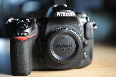 Nikon D300S 12.3 MP Digital SLR Camera AS NEW! SHUTTER 3822!(1%)+ EXTRAS!!