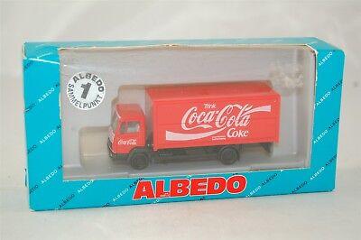 Albedo Coca Cola Coke Mercedes Delivery Truck Red