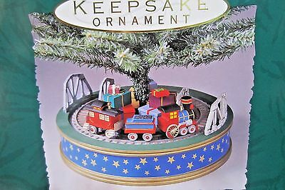 "1993 Hallmark  QXM5452 ""Holiday Express"" Tree Base"
