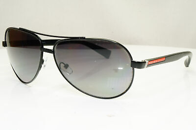 SCRATCHED Authentic PRADA Polarized Vintage Sunglasses SPS 51N 1BO-5W1 31108
