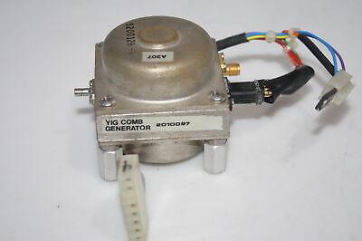 Hp Agilent 8566 Spectrum Analyzer 100hz-2.5ghz 2-22ghz Yig Comb Generator