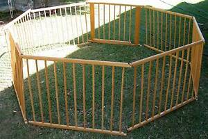 LARGE OCTAGONAL PLAYPEN Booval Ipswich City Preview