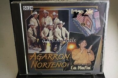 Intocables; Mafia - Agarron Norteno - Intocables Vs La Mafia , Music CD (NEW)