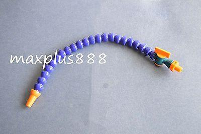 18 Bspt Nozzle Adjustable Plastic Water Oil Coolant Pipe Hose For Lathe Cnc