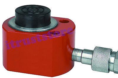 10 Ton Hydraulic Air Pump Lift Porta Power Low Profile Mini Tight Space Ram