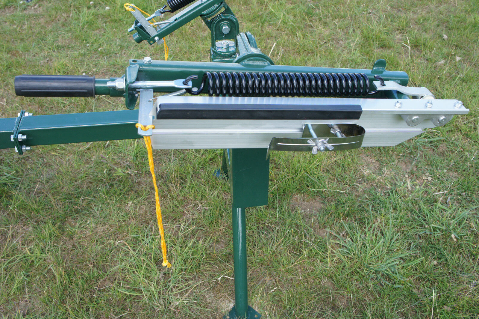Double Arm Manual Seated Clay Pigeon Trapclay Target Thrower