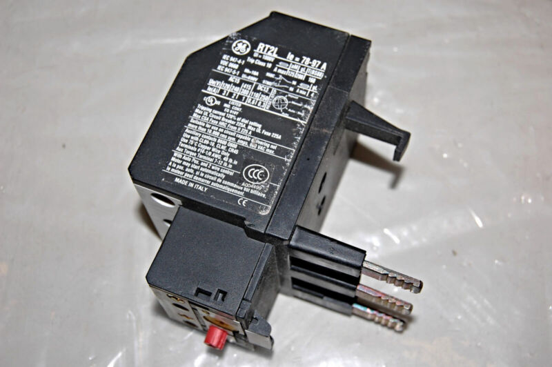 GENERAL ELECTRIC RT2L OVERLOAD RELAY
