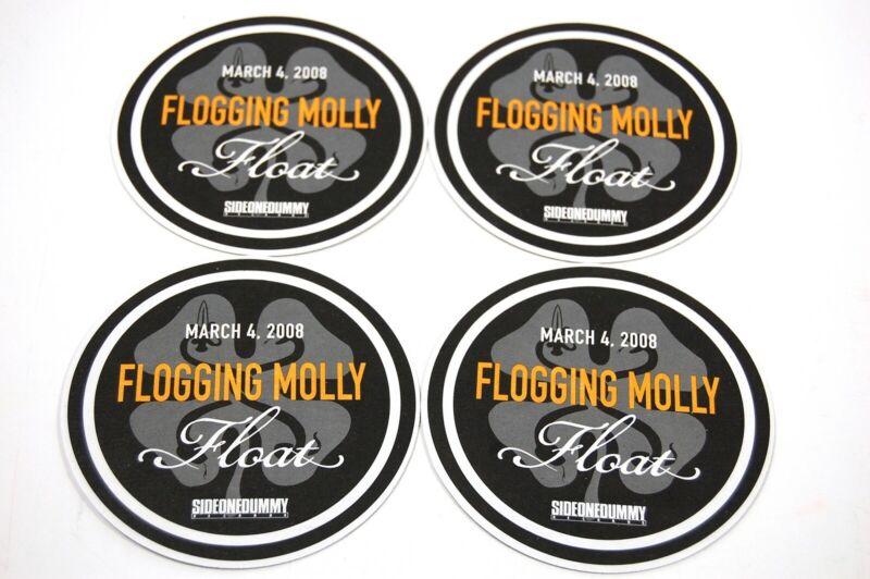 Flogging Molly 4 Original Record Company Promo Coasters