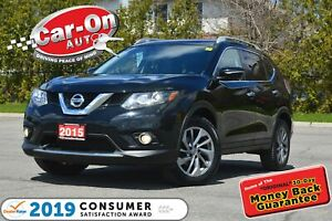 2015 Nissan Rogue SL AWD LEATHER NAV PANO ROOF REAR CAM HTD SEAT