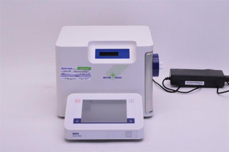 Mettler Toledo DM40 LiquiPhysics Excellence Density Meter w/Warranty