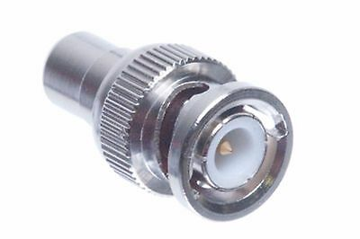 BNC Male to RCA Female ADAPTER Connector. Free Shipping Free Bnc Rca Connectors