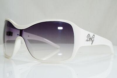 Authentic DOLCE & GABBANA Vintage Sunglasses White CRYSTAL D&G 8035 508/8G 28519