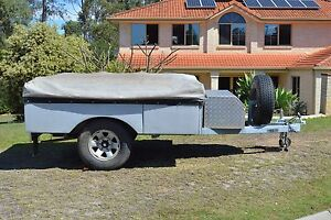 Swamp Donkey Off Road Camper Trailer Cashmere Pine Rivers Area Preview