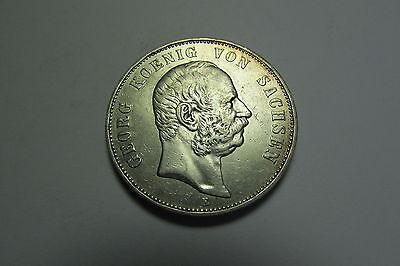 m045 5 Mark Sachsen 1903 E Georg König von Sachsen