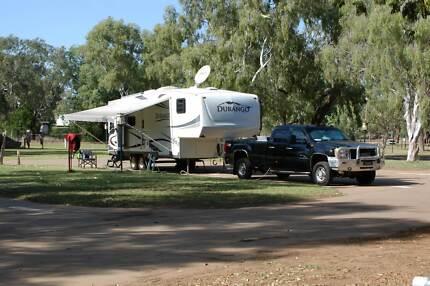 Durango 5th Wheeler & GMC Sierra 2500HD LWB Ute