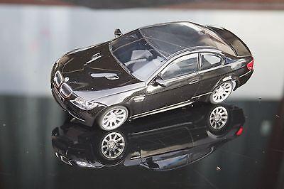 BMW M3++neue schwarze BMW M3 Karosse mit Chromfelgen für MR-02 Mini-Z Chassis++