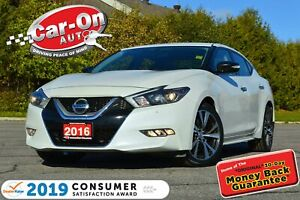2016 Nissan Maxima LEATHER NAVI REAR CAM HTD SEATS LOADED
