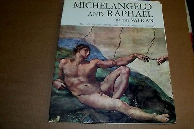 MICHELANGELO and RAPHAEL in the VATICAN 1983 Special Edition for the Museums