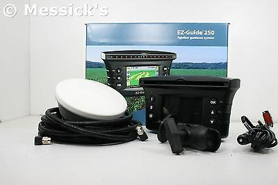 Trimble Ez Guide 250 Gps Lightbar W Ag15 Antenna Upgrade New Holland