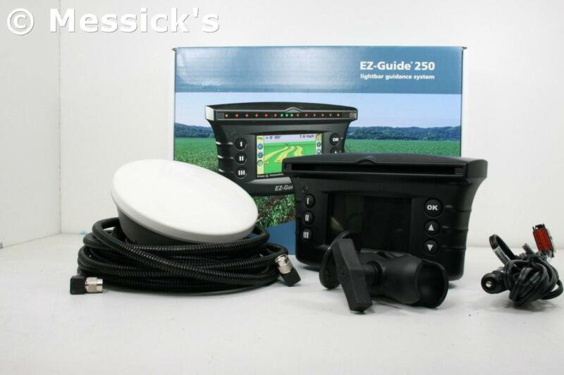 Trimble EZ Guide 250 GPS Lightbar w/ AG15 Antenna Upgrade / New Holland