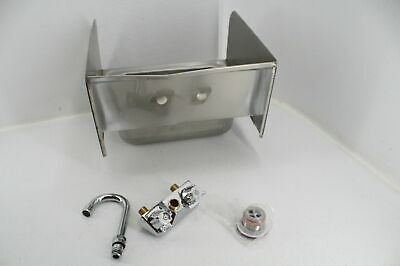 Profeeshaw Stainless Steel Sink Commercial Wall Mounted Hand Washing Basin