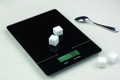 Mainstays Slimline Digital Food Kitchen Scale Up To 11 Lbs Black 17c