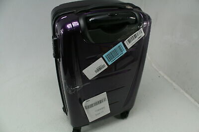 Samsonite Winfield 2 Hardside Expandable Luggage Spinner Wheels 24 Inch Purple