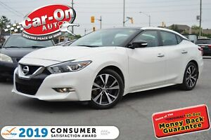 2016 Nissan Maxima SL LEATHER NAV PANO ROOF REAR CAM HTD SEATS