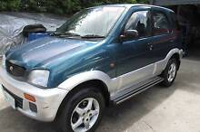 1998 Daihatsu Terios DX 4X4 Wagon Youngtown Launceston Area Preview