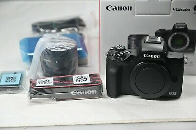 Canon EOS M50 24.1MP mit EF-M 15-45mm f/3.5-6.3 IS STM Objektiv