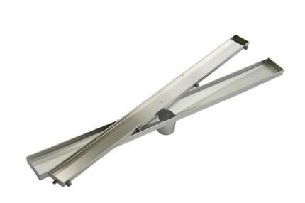 900mm Tile Insert Bathroom Shower Stainless Steel Grate Drain w/C