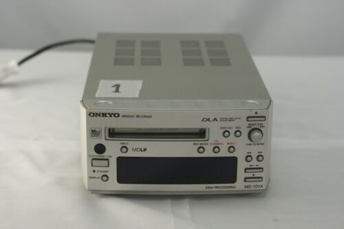 ONKYO MD-101A Minidisc MD Deck Player Recorder Audio short powercable No.1