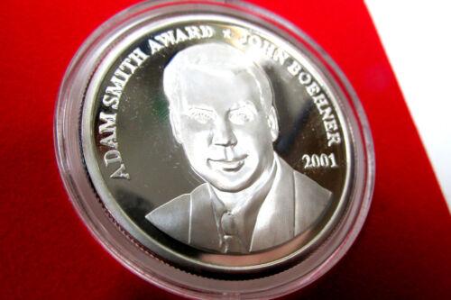 John Boehner, US Congressman Speaker Silver Medallion ~1 oz. Coin,  BIPAC Award