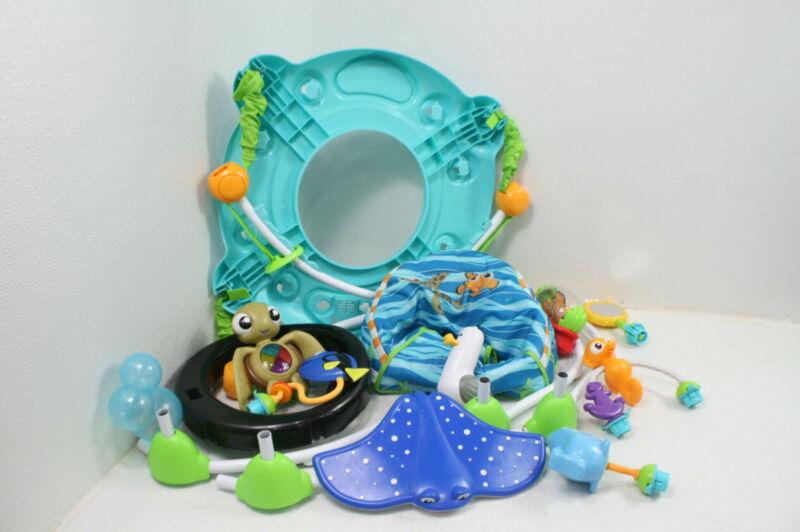 SEE NOTES Disney 60701 Baby Finding Nemo Sea Activities Jumper Toys Nemo Lights