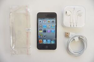 iPod Touch 4th Gen 8gb + NEW case and earphones + FREE post with Melbourne CBD Melbourne City Preview