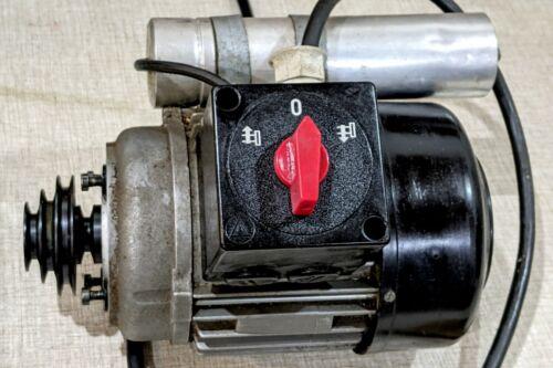 Emco Compact 5 Manual Lathe Parts: 115 VAC F/R Spindle Motor G20U