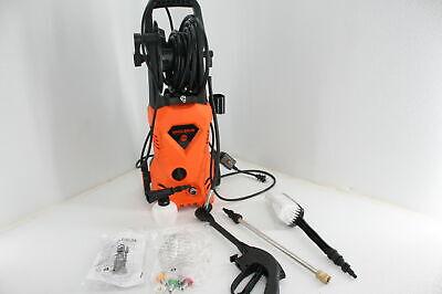 Suyncll Pressure Washer Electric 3000psi Hose Reel High Pressure Washer Orange