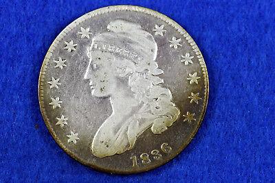 Estate Find 1836 Capped Bust Half Dollar  #D11064