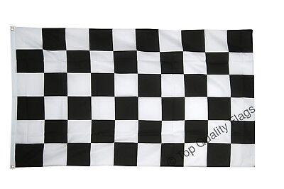 Checkered black-white FLAG finish line Banner 90x150cm - 5ftx3ft