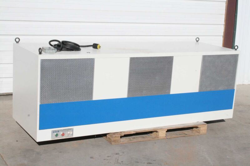 IAS LV8-30 Integrated Air Systems Inc. Lab Flow Hood Fume Extractor HEPA Filter