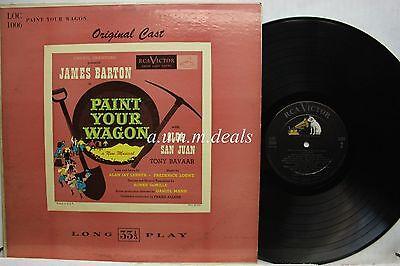 "James Barton -  Paint Your Wagon -  RCA Records    LP 12"" (VG)"