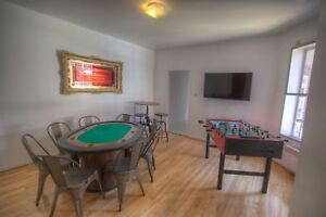 Fully Furnished 4 Bedroom Plateau- Flexible Lease