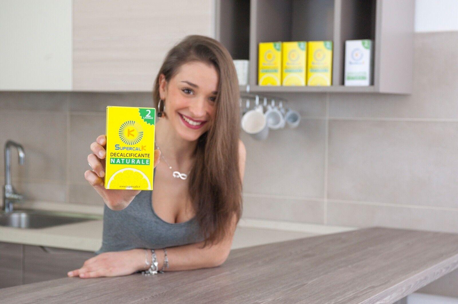 Decalcificante, Disincrostante, Anticalcare SupercalK 100%Naturale Universale